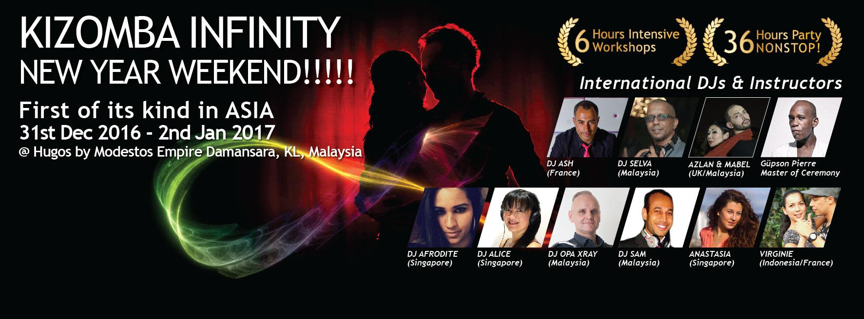 Kizomba Infinity Kuala Lumpur